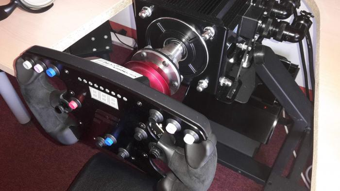 Adapter for Fanatec wheels quick release