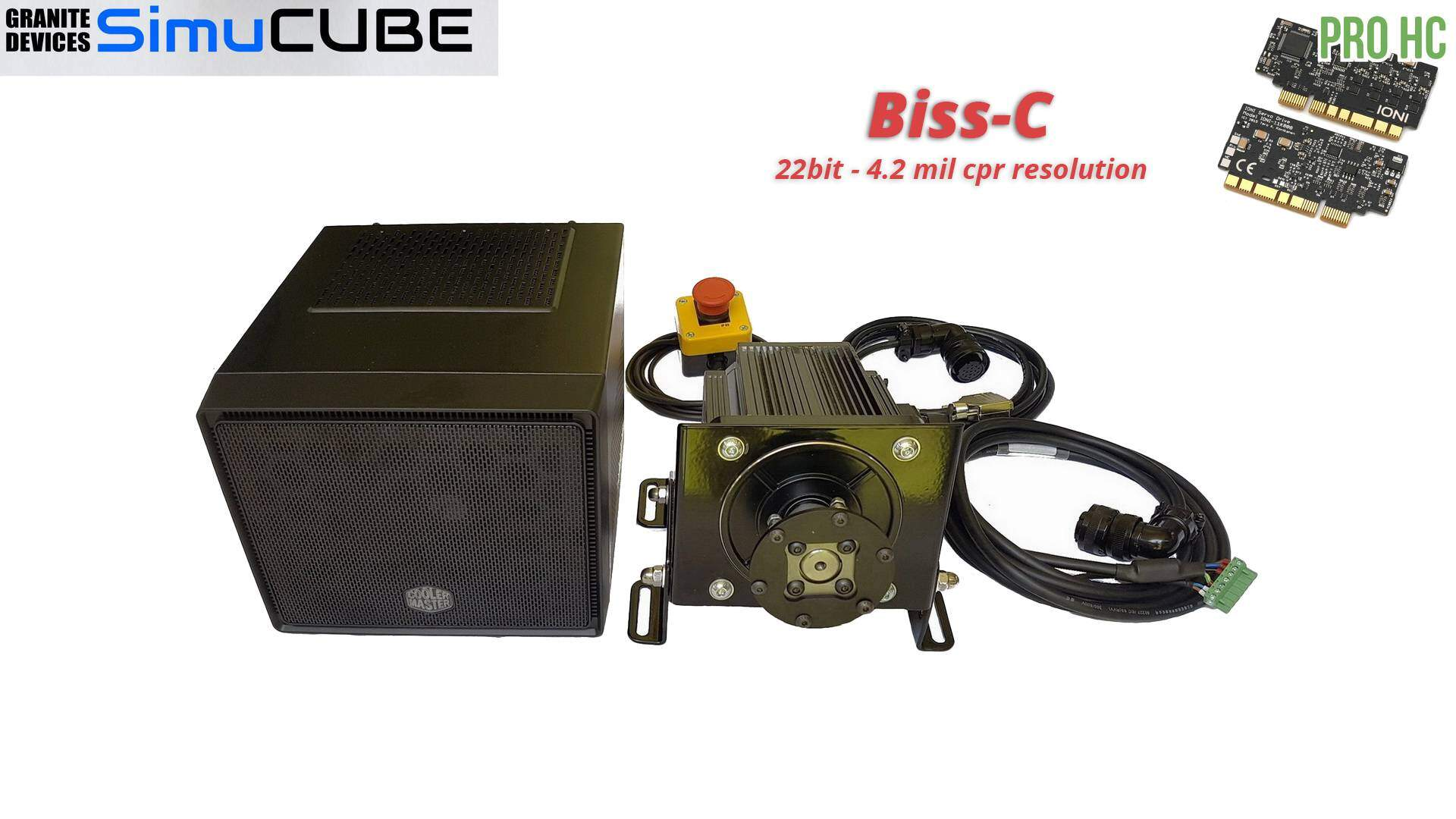 Simucube Based Osw Kit Biss C With Cm110 Case